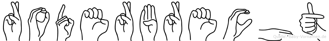 Roderbrecht in Fingersprache für Gehörlose
