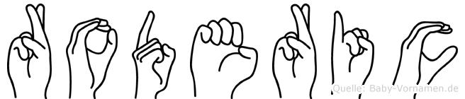 Roderic in Fingersprache für Gehörlose