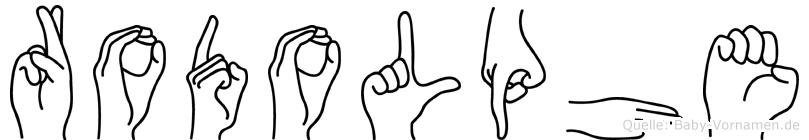 Rodolphe in Fingersprache f�r Geh�rlose