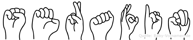 Serafin in Fingersprache für Gehörlose