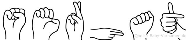 Serhat in Fingersprache für Gehörlose