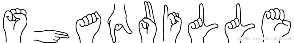 Shaquille in Fingersprache für Gehörlose
