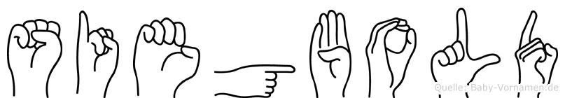 Siegbold in Fingersprache für Gehörlose