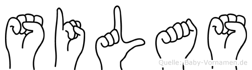 Silas in Fingersprache für Gehörlose