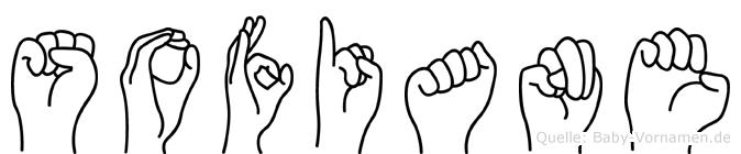 Sofiane im Fingeralphabet der Deutschen Gebärdensprache