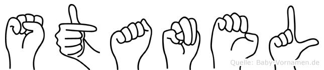 Stanel in Fingersprache für Gehörlose