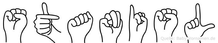 Stanisl in Fingersprache für Gehörlose