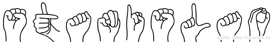 Stanislao in Fingersprache für Gehörlose