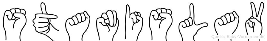 Stanislav in Fingersprache für Gehörlose