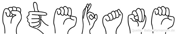 Stefane in Fingersprache für Gehörlose