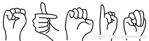 Stein im Fingeralphabet der Deutschen Gebärdensprache