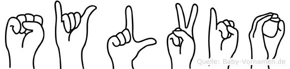 Sylvio in Fingersprache für Gehörlose