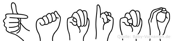 Tamino in Fingersprache für Gehörlose