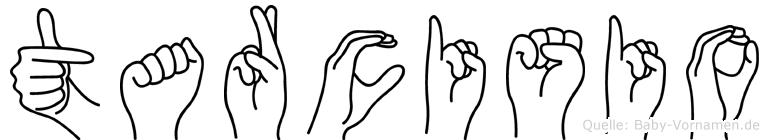 Tarcisio in Fingersprache für Gehörlose