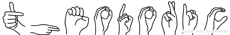 Theodoric in Fingersprache für Gehörlose