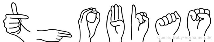 Thobias in Fingersprache für Gehörlose