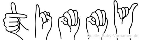 Timmy in Fingersprache für Gehörlose