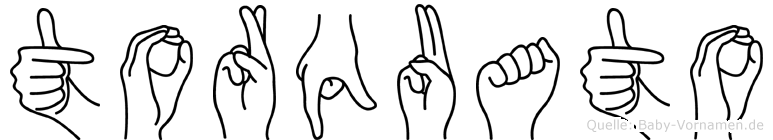 Torquato in Fingersprache für Gehörlose