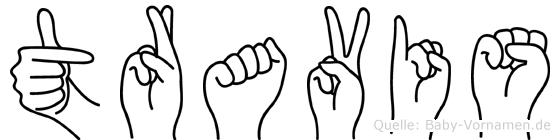 Travis in Fingersprache für Gehörlose