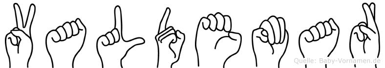 Valdemar in Fingersprache für Gehörlose