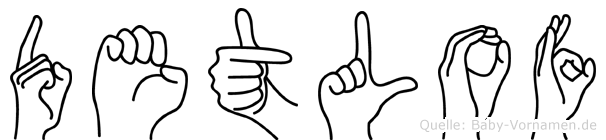 Detlof in Fingersprache f�r Geh�rlose