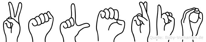 Valerio in Fingersprache für Gehörlose