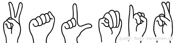 Valmir in Fingersprache für Gehörlose