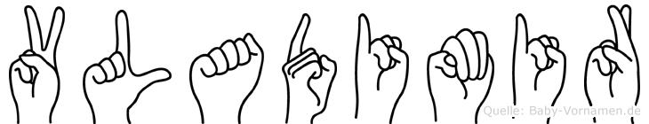 Vladimir in Fingersprache für Gehörlose