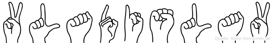 Vladislav in Fingersprache für Gehörlose
