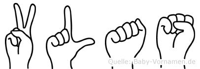 Vlas in Fingersprache für Gehörlose