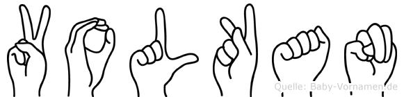 Volkan in Fingersprache für Gehörlose