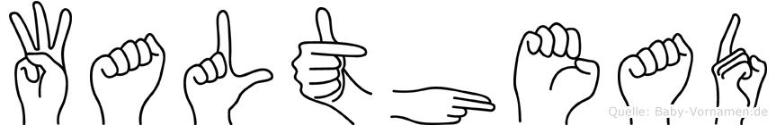 Walthead in Fingersprache für Gehörlose