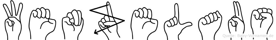 Wenzelaus in Fingersprache für Gehörlose