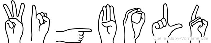 Wigbold in Fingersprache für Gehörlose
