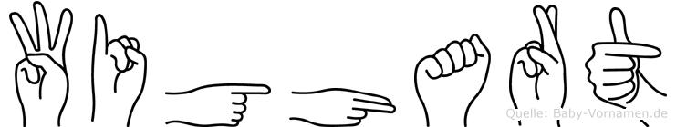 Wighart in Fingersprache für Gehörlose