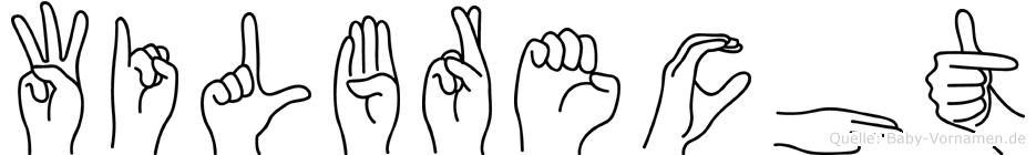 Wilbrecht in Fingersprache für Gehörlose