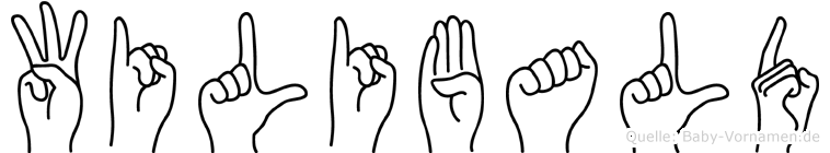 Wilibald in Fingersprache für Gehörlose