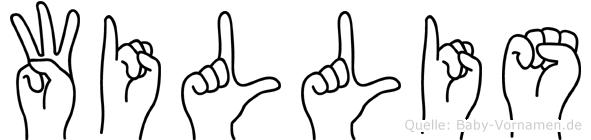 Willis in Fingersprache für Gehörlose