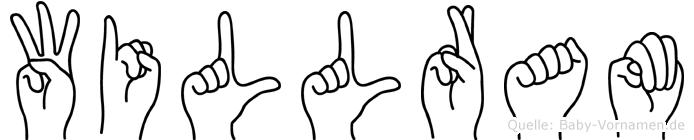Willram in Fingersprache für Gehörlose