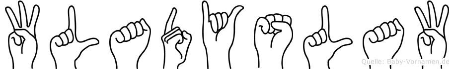 Wladyslaw in Fingersprache für Gehörlose