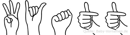 Wyatt in Fingersprache für Gehörlose