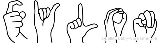 Xylon in Fingersprache für Gehörlose