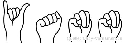 Yann in Fingersprache für Gehörlose