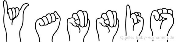 Yannis in Fingersprache für Gehörlose