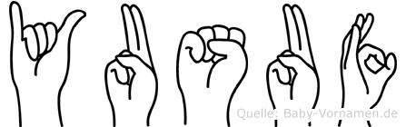 Yusuf in Fingersprache für Gehörlose