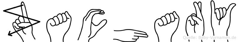 Zachary in Fingersprache für Gehörlose