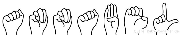 Annabel in Fingersprache für Gehörlose