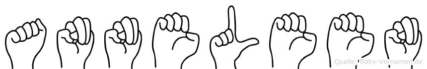 Anneleen in Fingersprache für Gehörlose