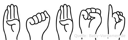 Babsi in Fingersprache für Gehörlose
