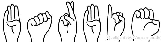 Barbie in Fingersprache für Gehörlose